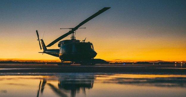 Los helicópteros militares dispararon sobre el norte de Virginia, los miembros de la tripulación heridos