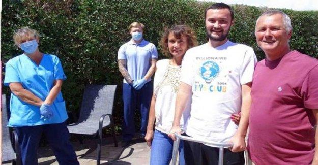 Los pacientes en Coma llegar a casa a 'otro mundo'