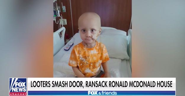 Los padres de los 2 años de edad, paciente de cáncer en Chicago hablar después de saqueadores romper la puerta, saquear la Casa de Ronald McDonald