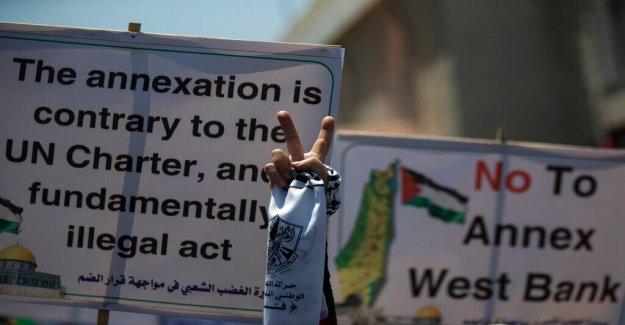 Los palestinos dicen que nueva Israel, EMIRATOS árabes unidos lidiar empuja resolución justa más lejos