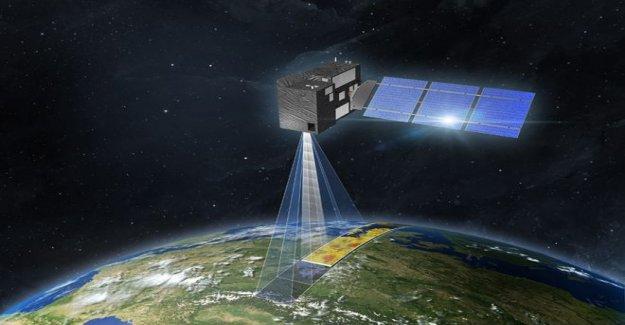 Los satélites europeos al mapa global de las emisiones de CO2