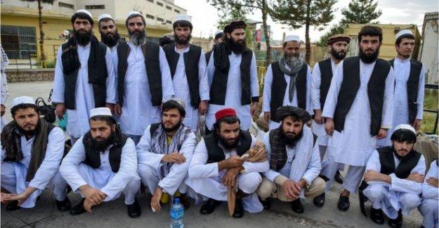 Los talibanes presos liberados pavimentación de camino para las conversaciones