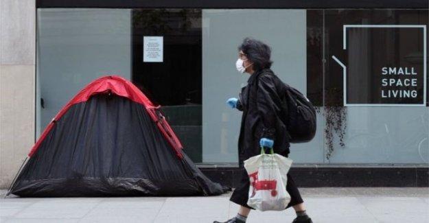 Los temores de 'la falta de vivienda ola cuando desalojo prohibición termina