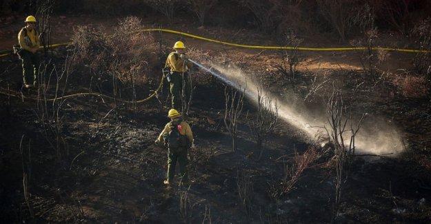 Malfuncionamiento del vehículo provocó el Sur de California wildfire