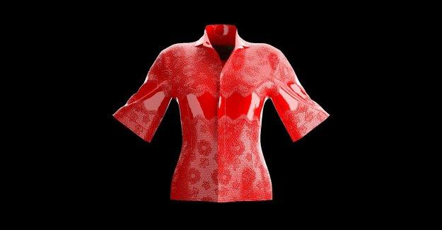Marca de ropa de la venta de digital-sólo la camisa por $700 como parte de 'sin contacto de la moda' de la línea de
