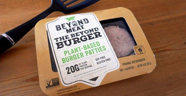 Más allá de la Carne del 2Q de ventas saltar lo más tratar de plantas a base de hamburguesas
