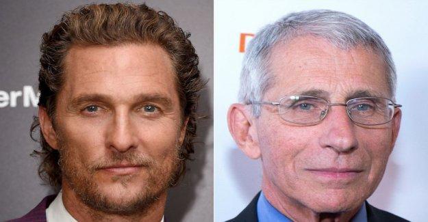 Matthew McConaughey parrillas Dr. Anthony Fauci en Instagram entrevista en COVID-19