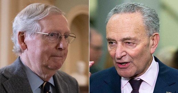 McConnell slams Demócratas para mover '1 pulgadas en 8 días' en el coronavirus del proyecto de ley – Schumer responde