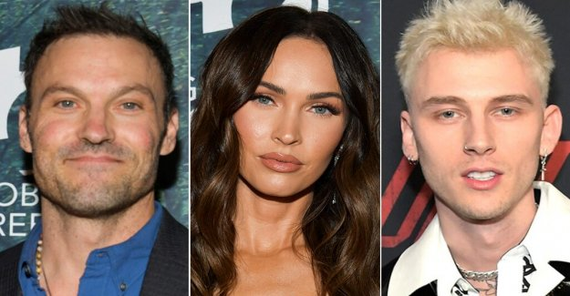Megan Fox, la ex marido, Brian Austin Green, voces mejores deseos mientras ella las fechas de Machine Gun Kelly