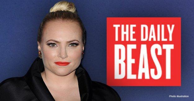Meghan McCain golpea Daily Beast para el título. lo que sugiere que ella podría votar por el Triunfo sobre Biden