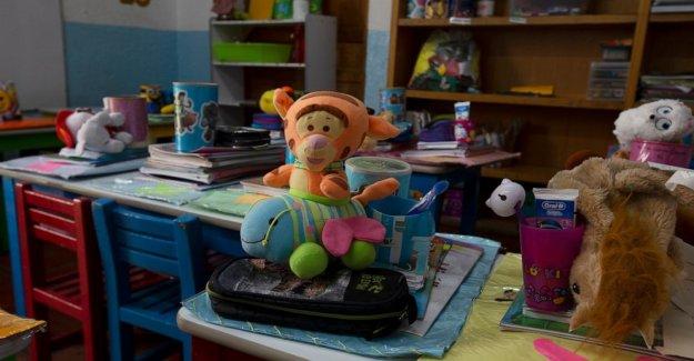 México del año escolar para comenzar con la instrucción en la televisión