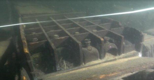 Misterioso del siglo 18 naufragio descubierto, puede haber sido cargados con alcohol