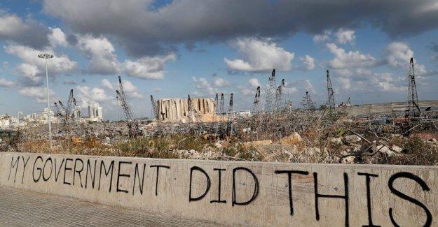Mundial de donantes de la demanda de cambio antes de que el dinero para la reconstrucción de Beirut