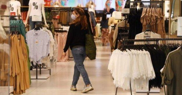 NI público le dijo a usar máscaras en las tiendas