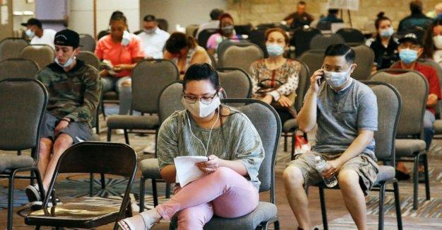 NOS agrega 1,8 millones de puestos de trabajo en julio, en medio de coronavirus pandemia