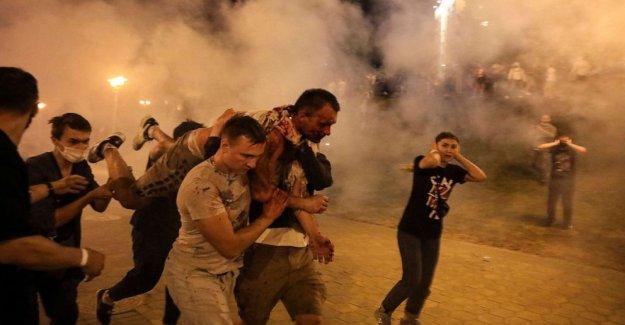 NOS pesa acción contra Bielorrusia por la violenta represión de protestas pro-democracia