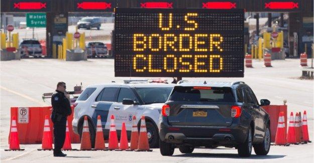 NOSOTROS está de acuerdo con el Canadá, México para extender las restricciones fronterizas en septiembre en medio de coronavirus