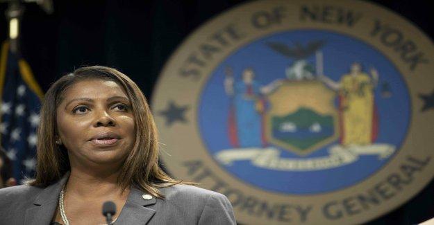 NY AG Letitia James para hacer la gran nacional de anuncio'