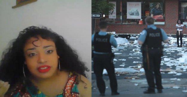 Negro Vidas Materia de Chicago fundador dice que el saqueo pasos en el mensaje; condena el alcalde Lightfoot la inacción