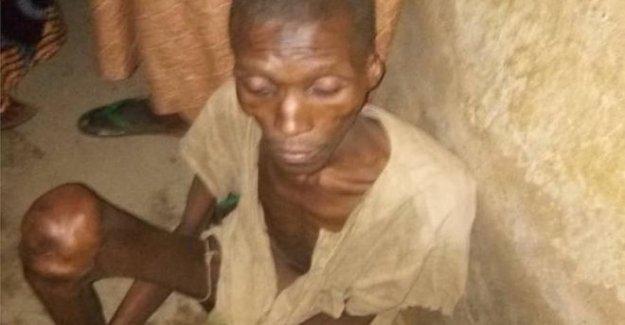 Nigeria hombre se encuentra encerrado en el garaje de sus padres