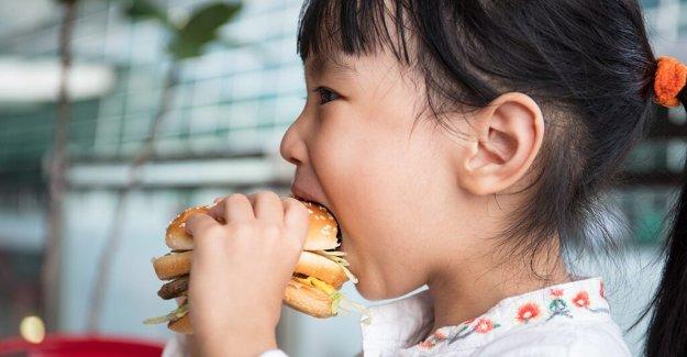 Niños que comen más comida rápida: CDC