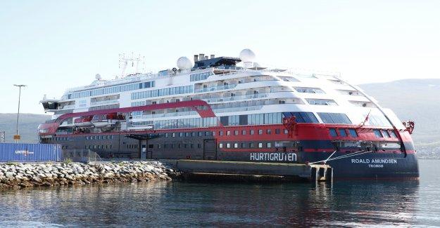 Norwegian cruise ship ve coronavirus casos lugar a 53, dicen los funcionarios de la