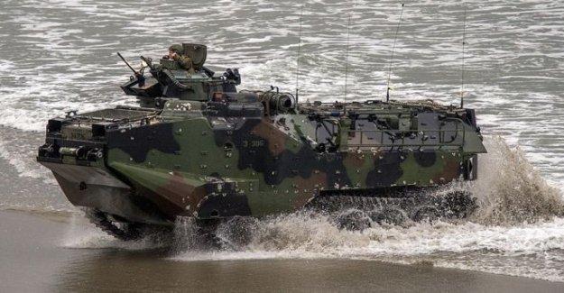 Ocho presuntos muertos después de que los militares de EE.UU. mar accidente