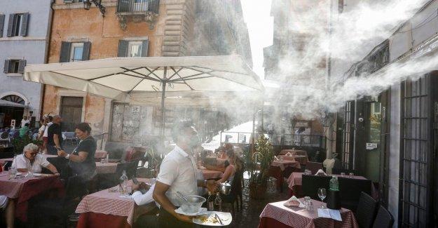 Ola de calor en Europa conjuntos de registros de temperatura en España; Londres, vea en el reino unido el tercer día más caluroso