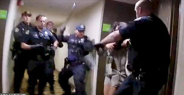 Par demandando a la ciudad de San José, de la policía sobre el uso de la fuerza en el hotel altercado