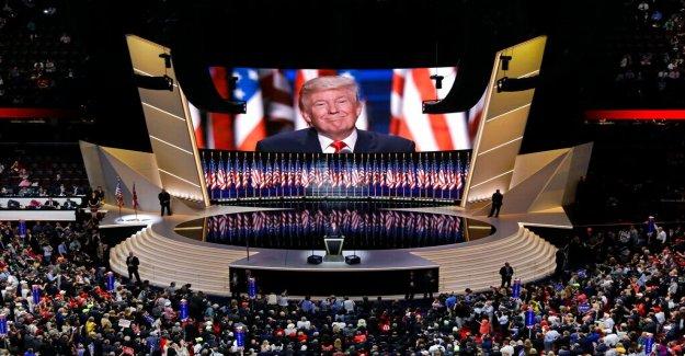 Partido REPUBLICANO de los funcionarios de la vista previa 'épicas' el Triunfo de direcciones, la primera de la familia papel en la evolución de programa de la convención
