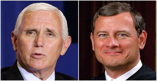 Pence rip Chief Justice Roberts en una entrevista, le llama  decepción para los conservadores
