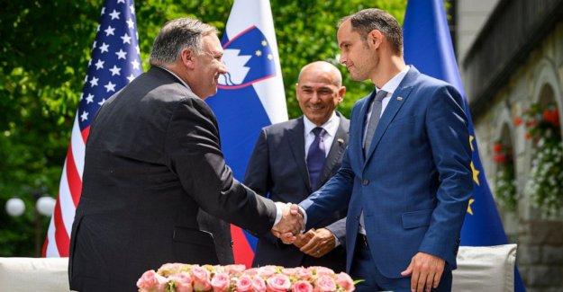 Pompeo, en Eslovenia, empuja 5G de seguridad, advierte sobre China