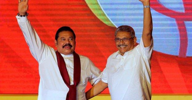 Rajapaksa hermanos para conseguir un fuerte apoyo en Sri Lanka encuestas