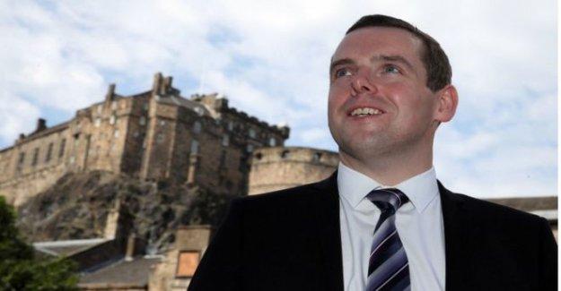 Ross probabilidades de ser confirmado como el Escocés líder Tory