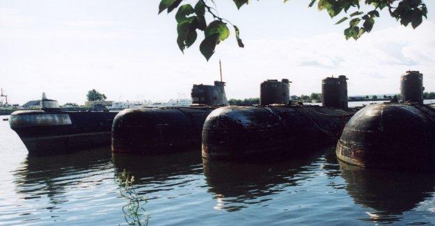 Rusia planea retirar radiactivos en los submarinos, los reactores de su mar Ártico piso