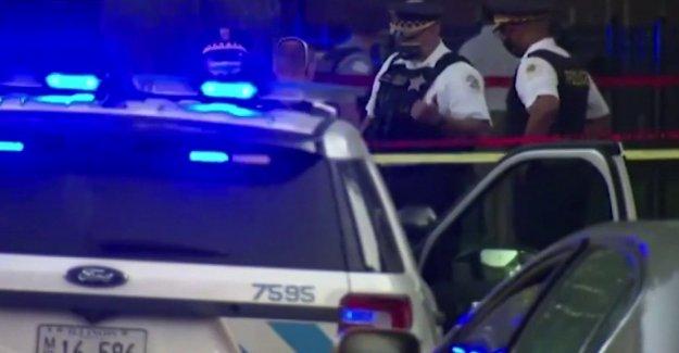 Saqueo generalizado informó en Chicago después de que la policía involucrados en el disparo