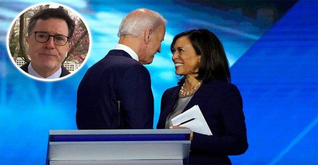 Stephen Colbert se compara la ideología política de Biden, Harris 'Rockefeller de los Republicanos
