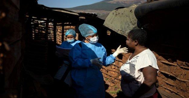Sudáfrica pobres de la lucha por los fármacos anti-VIH en medio de virus