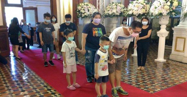 Taiwanés respetos al ex Presidente Lee Teng-hui