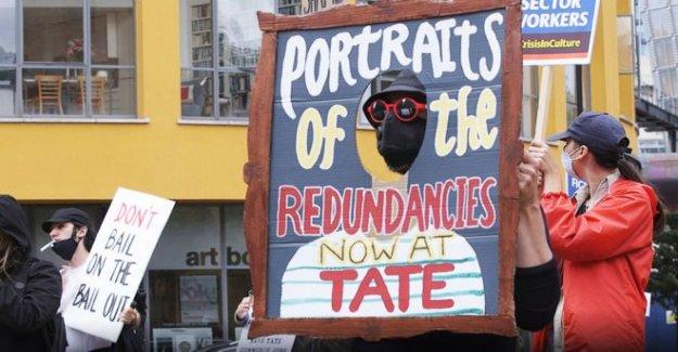 Tate defiende los recortes de empleo en la galería de tiendas y cafés