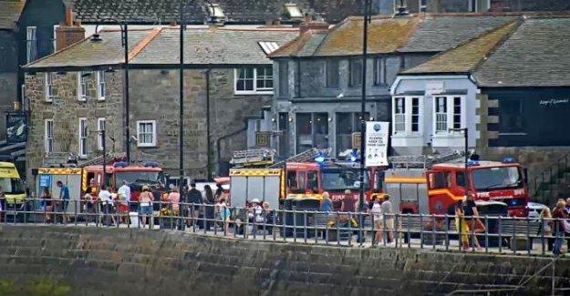 Tres heridos en explosión en St Ives waterfront bar