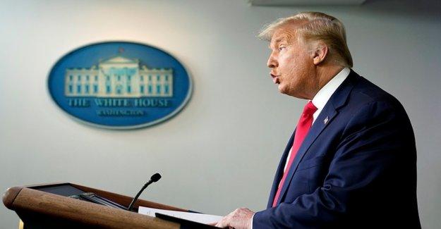 Trump dice que él está dispuesto a dar USPS dinero si Dems conceder a algunos de financiación de la pregunta en el coronavirus del paquete de ayuda