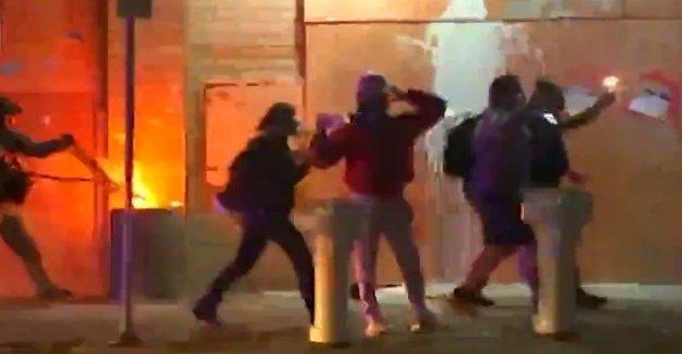 Trump rip Portland manifestantes: Estos son realmente enfermo, tener trastornos de la gente'