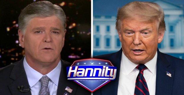 Trump se une a Sean Hannity para la primera entrevista desde el anuncio de Biden-Harris Demócrata