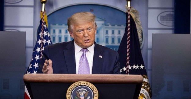 Trump se ve a eclipsar DNC con swing-actos de estado, de varios millones de dólares de publicidad digital blitz