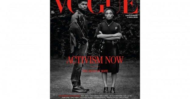 Vogue UK focos de activistas Negros, el cambio social