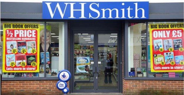 WH Smith puede cortar de 1.500 puestos de trabajo después de los ingresos se desploma