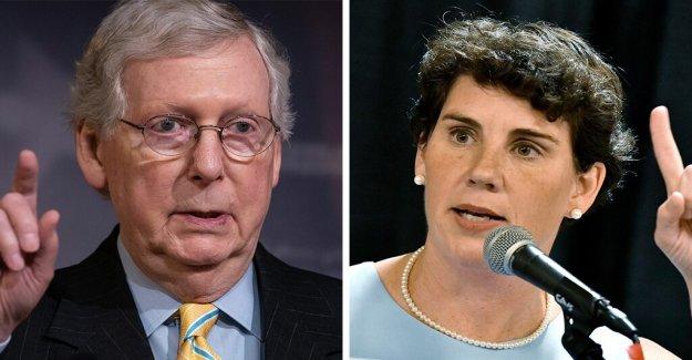 WaPo da tres Pinocchios reclamar Dem challenger que McConnell dinero de China