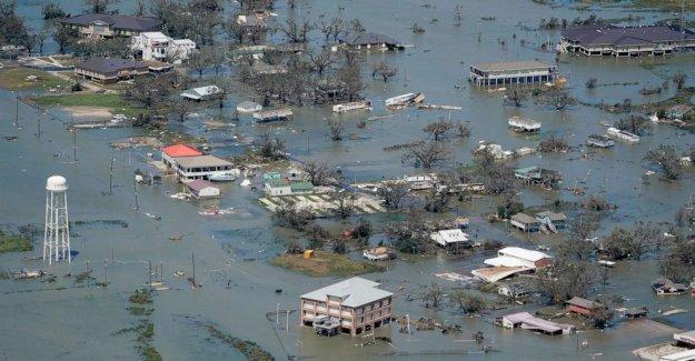 Peaje de la muerte de hasta 16 para el Huracán Laura