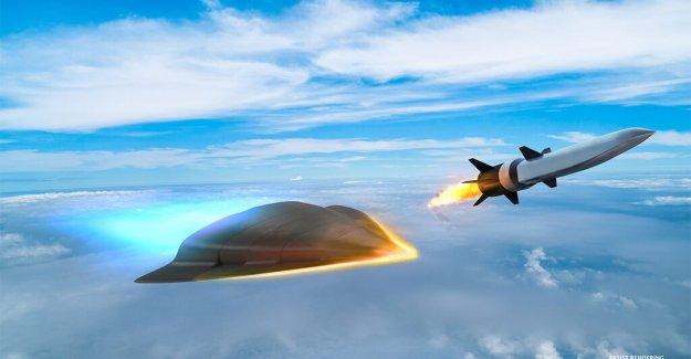 El pentágono desarrolla la auto-orientación, 'autónoma' armas hipersónicas